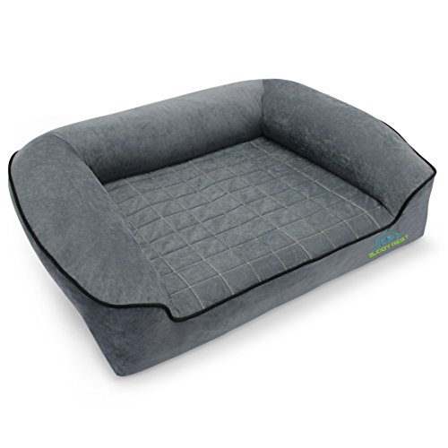BUDDYREST Romeo Orthopedic Bolster Dog Bed Review