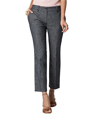 LE CHÂTEAU Women's Dressy Denim Slim Crop (Dressy Jeans For Women)