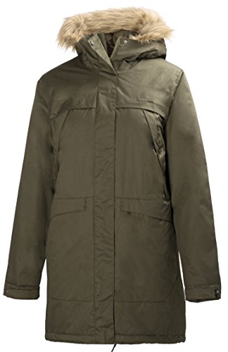 Large Helly Coastline Women's W Hansen Parker Women green 6wTOUqw