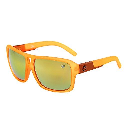 LianSan Fashion Oversized Mirror Rectangle Sports Men Women Outdoor Driving Cycling Sunglasses - Spy Real Sunglasses