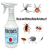 Home Pest Repellent Spray – Natural Pest Control – Useful Against House Roach, Spiders, Ants, Fleas – Fast Acting Pest Control Spray