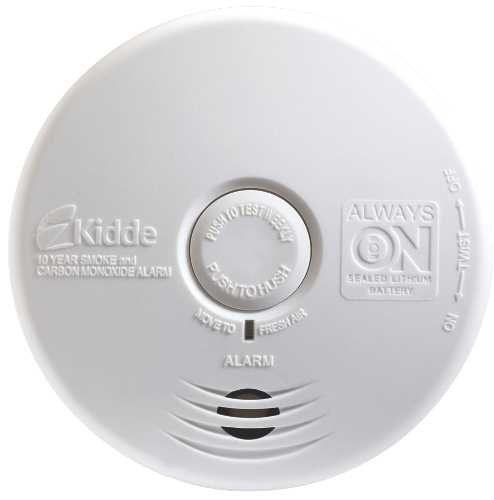 Kidde P3010K-CO Worry-Free Kitchen Smoke and Carbon Monoxide Alarm Sealed Lithium Battery Power