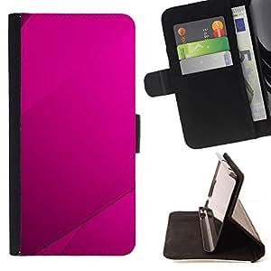 Momo Phone Case / Flip Funda de Cuero Case Cover - Purple Azulejos;;;;;;;; - MOTOROLA MOTO X PLAY XT1562