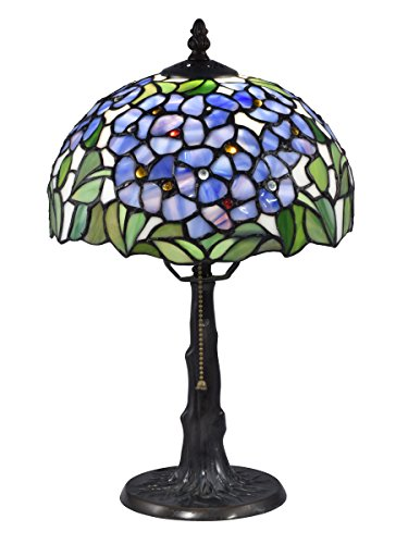 Springdale by Dale Tiffany STT17031 Garden Tiffany Solid Bronze Table Lamp, Antique Verde (Dale Tiffany Garden)