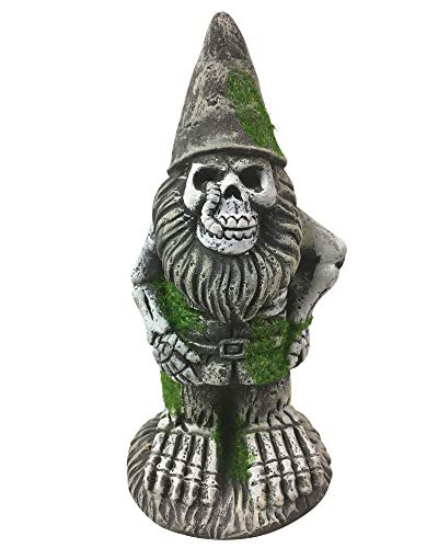 All Hallows Eve Halloween Skeleton Zombie Garden Gnomes (Zombie with -