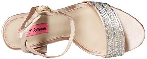 Donne Johnson Sandalo Delle Piattaforma Champagne Vestito Alliie Betsey Nero Bqx6Bw