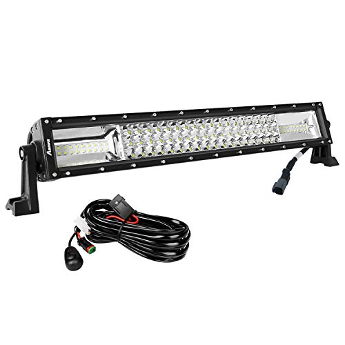 AAIWA-LED-Light-Bar-Led-Bar-Curved-Triple-Row-Flood-Spot-Combo-Beam-Off-Road-Lights-LED-Work-Light-for-TruckJeepATVUTVSUVBoat-Light