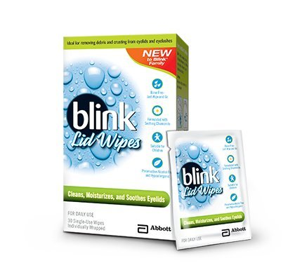 Blink Lid Wipes, 30 Little Single Use Wipes (Pack of 2)