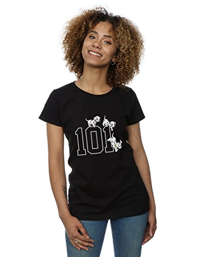 Disney '101 Dalmatians 101 Doggies' Womens Fitted T-Shirt (large)]()