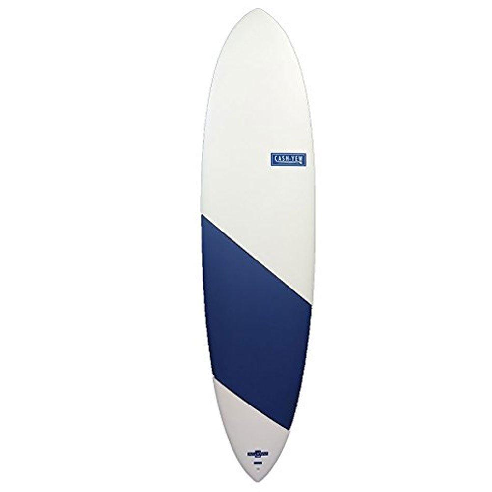 WATER RAMPAGE ウォーターランページ サーフボード CASH-YEW 7'6 NAVY-白い ファンボード 白い/Nav