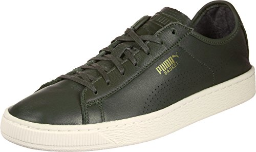 Puma Basket Classic Soft, Sneakers Basses Mixte Adulte Olive