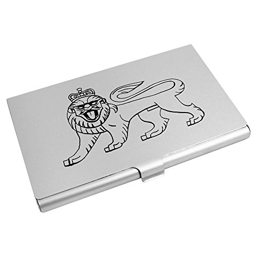 Azeeda 'Lion Business CH00010133 Holder Card Crown' With Card Credit Wallet rrqtaAx