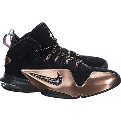 best website 4d086 a7e80 ... NIKE Mens Zoom Penny VI Premium Basketball Shoes Black Metallic Copper  749629-001 Size ...