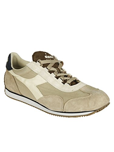 Diadora Heritage, Uomo, Equipe SW 12 Stone, Suede/Tessuto, Sneakers, Marrone