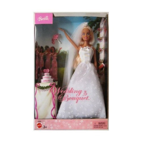 Barbie Wedding Bouquet 2003 Edition Doll with White Wedding Dress with ()