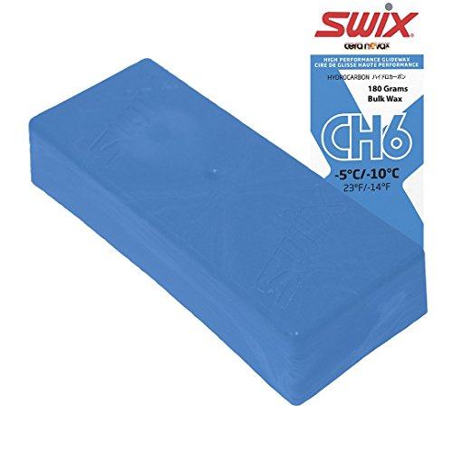 Swix Hydrocarbon Wax: CH6X Blue: 180 grams: Bulk Wax