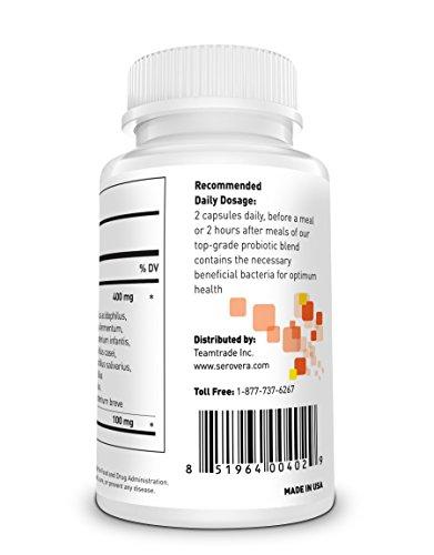 Serovera Advantage Supplement bundle combines Glyconutrients and Probiotics. Replenish Gut Bacteria, Promote Colon health and Immune Modulation. Vegaterian, Gluten-free, Three month supply. by SEROVERA (Image #5)