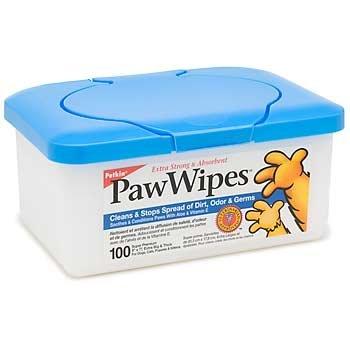 Petkin Paw Wipes 100ct by PawWipes