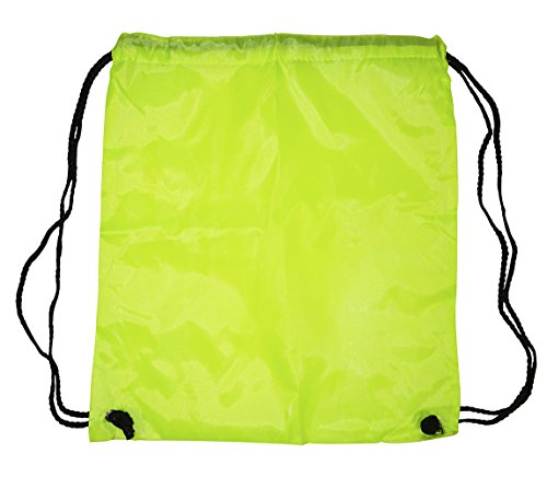 Nylon Drawstring Backpacks (Neon - Cape Outlets On Cod