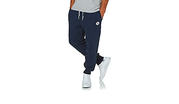 Converse - Pantalón de Hombre Core Rib Cuff Jogger: Amazon.es ...