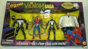 [Spider-Man - The Animated Series: The Venom Saga Special Collector's Edition box set (includes Black Costume Spider-Man, Octo Spider-Man, Kingpin and Venom Unmasked) (1996)] (Comicbook Costumes)