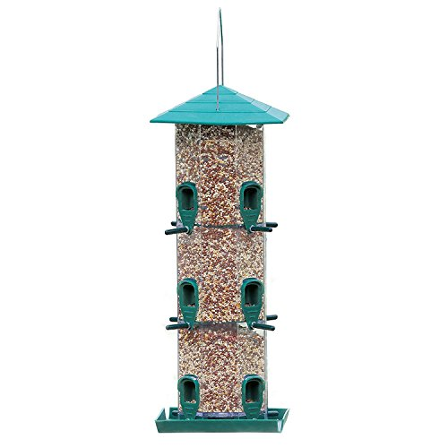 Perky Pet 111 Birdscapes 12-Port Grandview Feeder by Perky-Pet