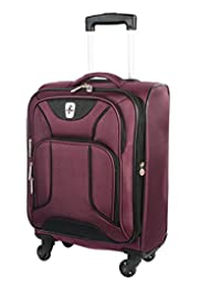 """Atlantic Montreux Collection Carry On Luggage 20"""" Red"""