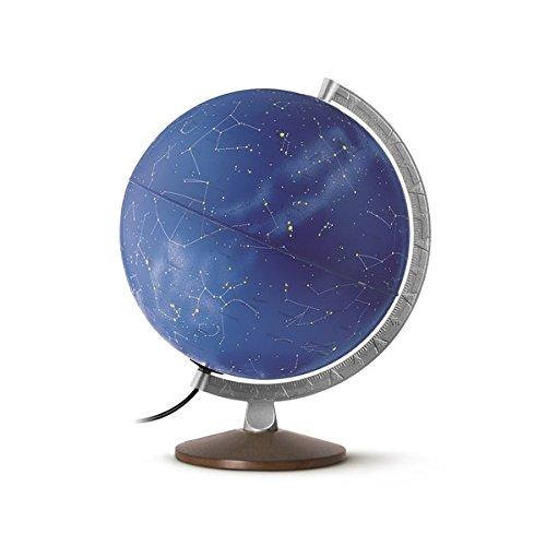 HL 3010 Himmelsglobus: HL 3010 Doppelbild-Leuchtglobus mit Sternenkarte und symbolischen Sternbildern, 30 cm, Metallmeridian und Holzfuß (Himmel und Planeten) Landkarte – Globe, 1. Juli 2015 TDL Räthgloben 1917 3941066773 Astronomie