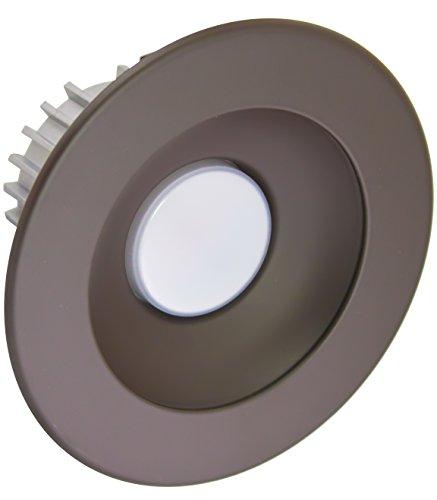 American Lighting X4-DBM-DB-X34 4-Inch Downlight X34 Series Trim Kit with Dark Bronze Multiplier, Dark Bronze