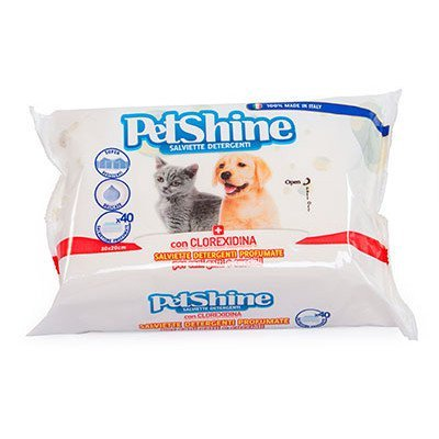Toallitas Higiene Perro/Gato, Clorexidina, 40 uds