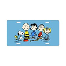 CafePress - The Peanuts Gang - Aluminum License Plate, Front License Plate, Vanity Tag