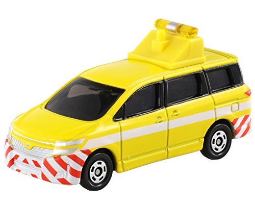 Price comparison product image Takara Tomica Tomy 88 NISSAN ELGRAND Road Patrol Scale 1 / 64 Diecast Toy Car