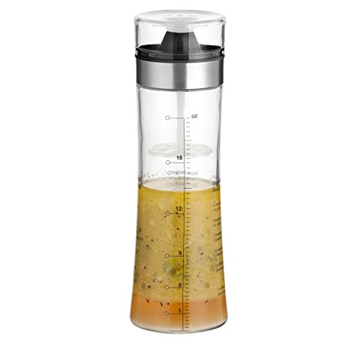 Artland Dressing Shaker, Clear (Salad Cruet Mixing Bottle compare prices)