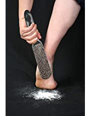 Probelle 2-Sided Hypoallergenic Nickel Foot File for Callus Trimming and Callus Removal (Dark Grey)