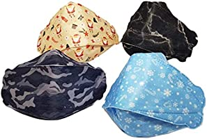 [4Pcs] Wes Care Design NanoMask Reusable | Made in Singapore | UV Clean, Soft & Comfortable, Easy to Breathe, Convenient...