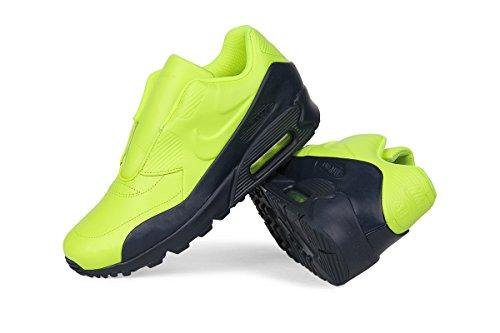 Nike Sacai X Nikelab Air Max 90 Instappers Damesschoen (7,5, Volt / Obsidiaan)