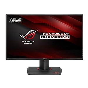 "ASUS ROG SWIFT PG27AQ 27"" 4K/UHD (3840x2160) IPS 4ms G-SYNC Eye Care Gaming Monitor with DP and HDMI ports"