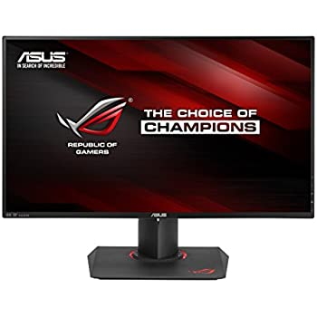 "ASUS ROG SWIFT PG27AQ 27"" 4K/UHD (3840x2160) IPS 4ms G-SYNC Eye Care Gaming Monitor with DP and HDMI ports"