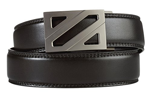 KORE # 1 RATED BELT Brand on Amazon. KORE DIFFERENCE > Means better Technology, Quality, Style & Warranty. Includes; 1 Ratchet Buckle & 1 Leather Track Belt. Our men's track belts are 800% more than traditional leather belts and 14...