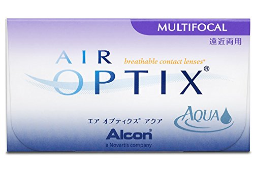 Air Optix Aqua Multifocal Monatslinsen weich, 3 Stück / BC 8.6 mm / DIA 14.2 mm / ADD HI / -9 Dioptrien
