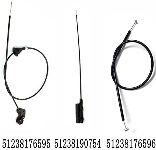 JSD Lot de 3 c/âbles de d/émontage pour hotte E39 525i 528i 51238190754 51238176596