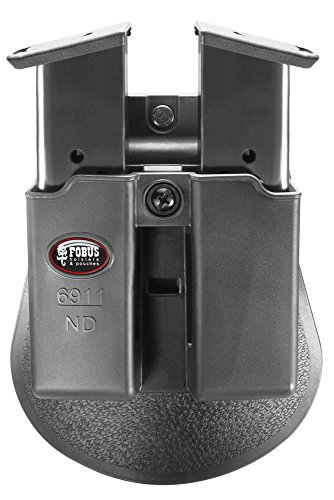 Fobus Double Mag Pouch 9mm .40 Single-Stack (Except Glock, Sw Mp Shield, (Fobus Holster Double Magazine Pouch)