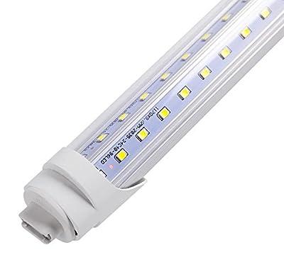T8 LED 8 Foot Lamp R17d 9,609 Lumens (Case of 25) - 12 Year Warranty