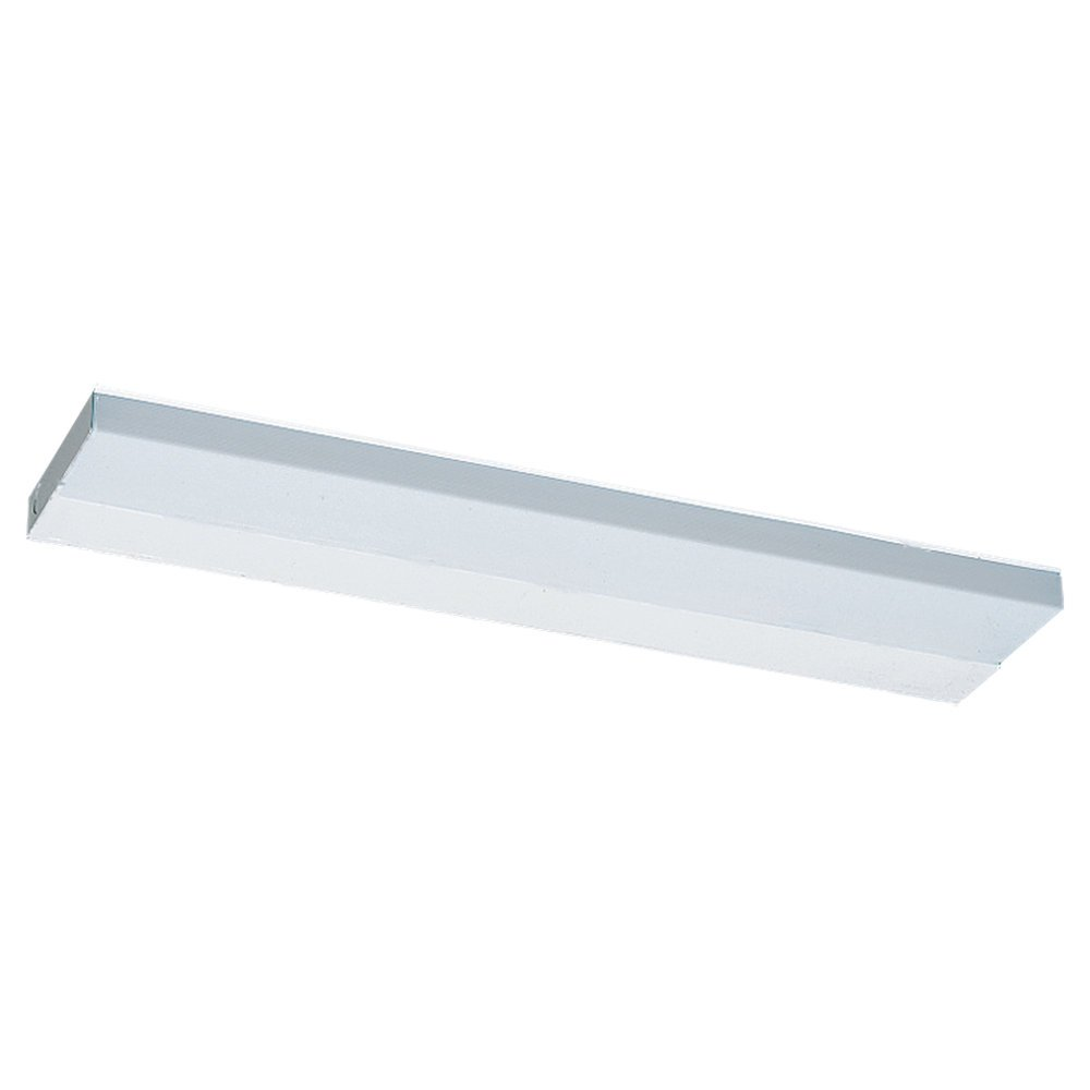 Sea Gull Lighting 4976BLE-15 Bath Vanity with White Diffuser Shades, White Finish