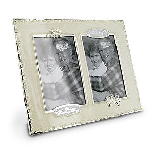 60th Anniversary Then And Now Photo Frame Amazoncouk Kitchen Home