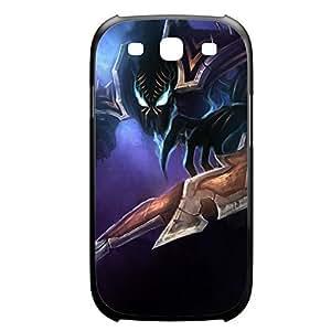 Nocturne-003 League of Legends LoL case cover Samsung Galxy S4 I9500/I9502 Plastic Black