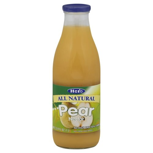 Hero Pear Nectar, 33.8 Ounce -- 6 per - Room Nectar