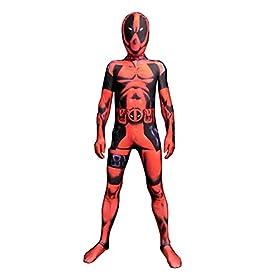 - 41EkKIC7cJL - Danlier Kids Cosplay 3D Dress Up Pretend Play Lycra Spandex Halloween Party Bodysuit