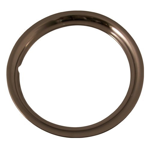 Part Number Set of 4 Stainless Steel 15 Inch Beauty Trim Rings with Metal Clip Retention System IWC1515S by IWC