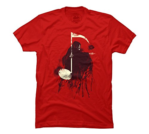 The Death Note Men's 2X-Large Red Graphic T Shirt - Design By Humans